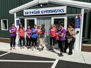 Kid Power Gymnastics Ribbon Cutting!