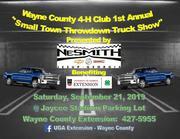 WAYNE COUNTY 4-H CLUB SMALL TOWN TRUCK THROWDOWN