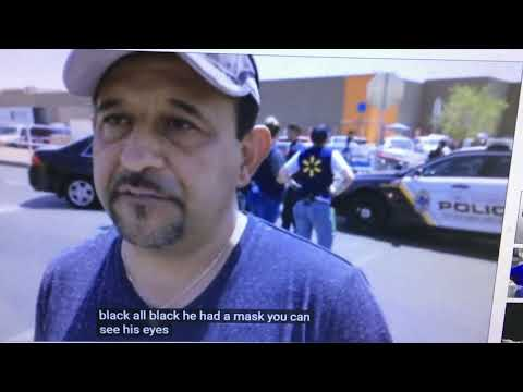 El Paso Mass Shooting Witnesses Conflict with Official Story