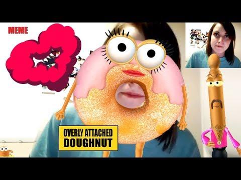 Overly Attached Doughnut, Meme, Goodbye Laina