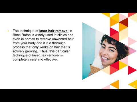 Laser Hair Removal in Boca Raton Florida