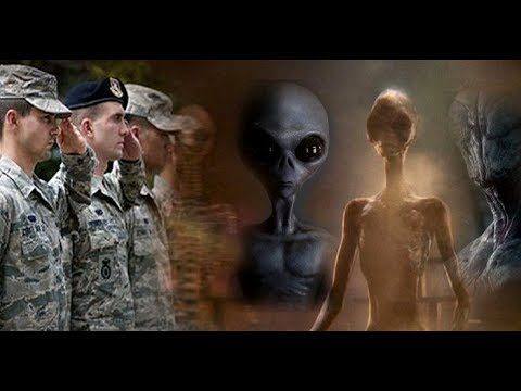 Face-to-face meetings are being held between US officials and Extraterrestrial Races