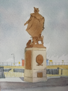 Commodore Barry Statue