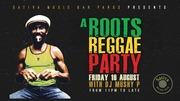 A Roots Reggae Party at Sativa