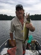 """1st Pickerel  of 10 for me 23.5"""""""
