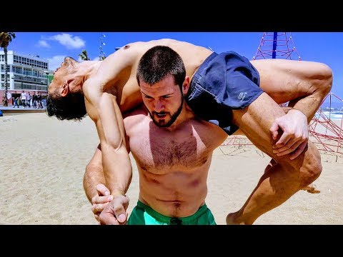 Beast Muscle Show: Lift and Carry Session at the Beach w/John Rodriguez! (2. Trailer)