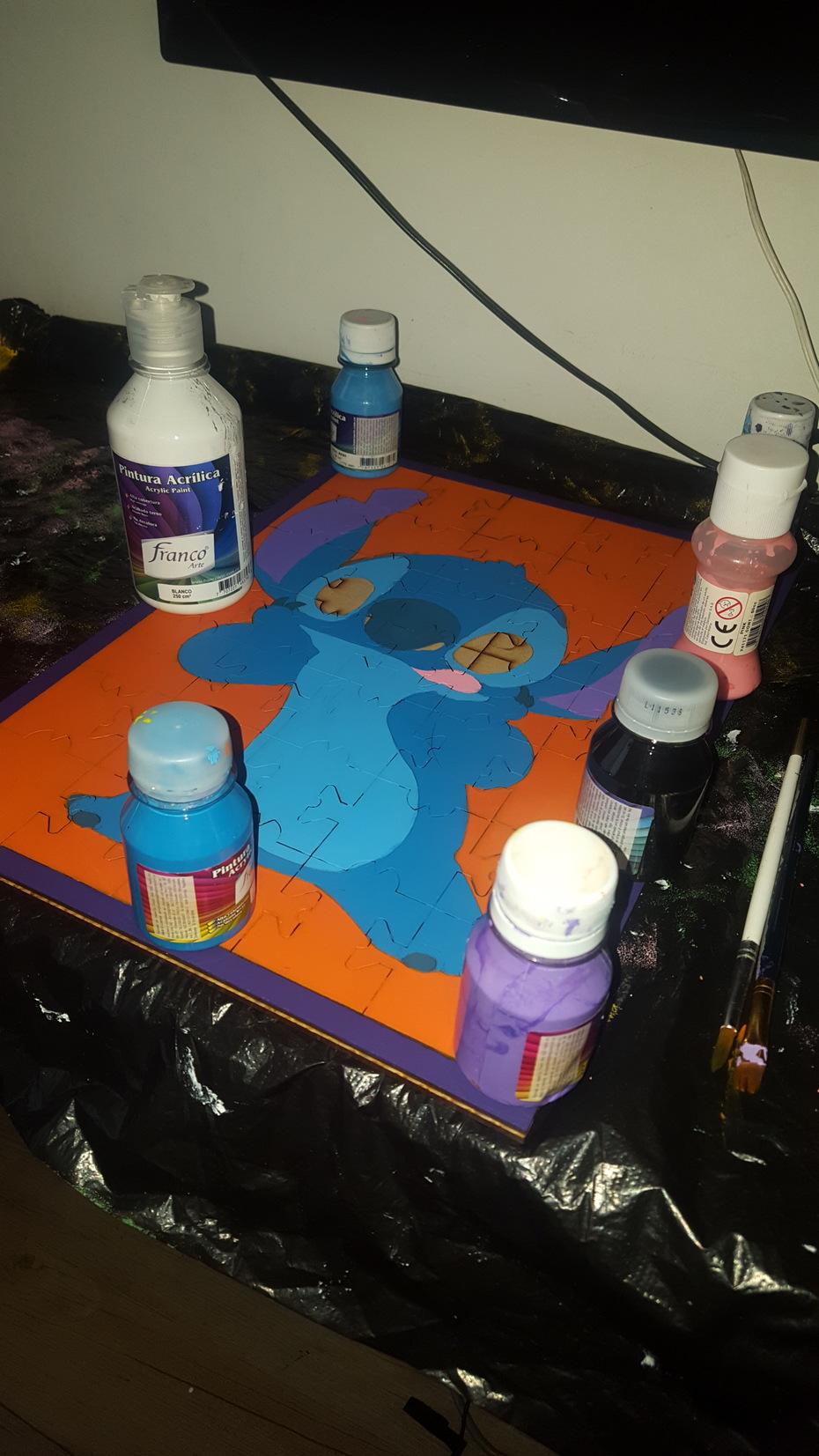 avance pintura