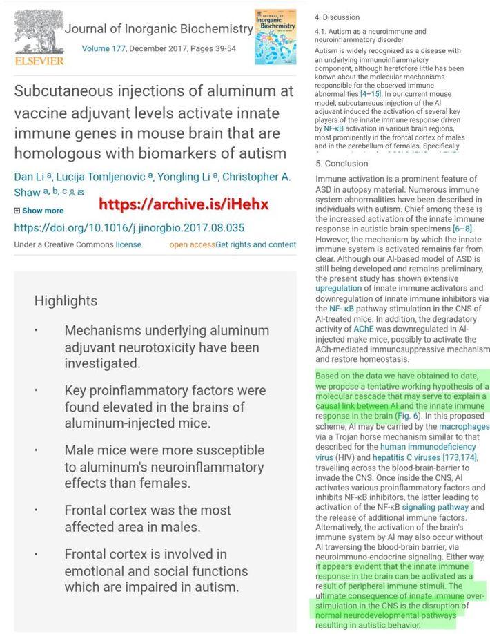 Vaccines Autism