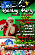 RSVP NOW: PCT Holiday Party!  Santa @ the Studio!