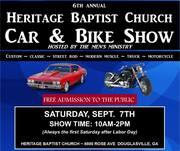 HERITAGE BAPTIST CHURCH CAR & BIKE SHOW