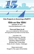 Site Projects|New Haven Birthday Bash: 15th on the 15th