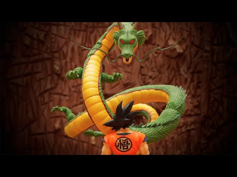 DRAGON BALL Stop Motion Action
