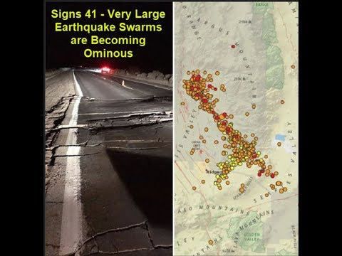 Very Large Earthquake Swarms are Becoming Ominous, Signs of Nemesis Stars Return?  Marshall Masters