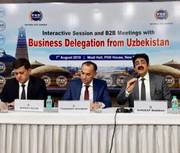 Sandeep Marwah Chaired Business Delegation From Uzbekistan