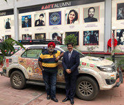 First Round of ICMEI Peace Drive Completed By Turban Traveller