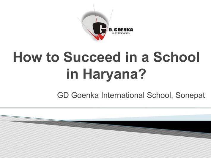 Top Schools in Haryana: Schools in Sonepat
