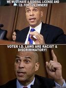 Booker lies