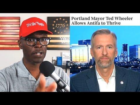 Portland Mayor Ted Wheeler OUTS Himself As FAR LEFTIST on TV!