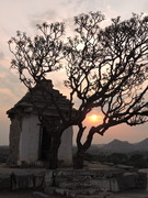 Sunset in Hampi