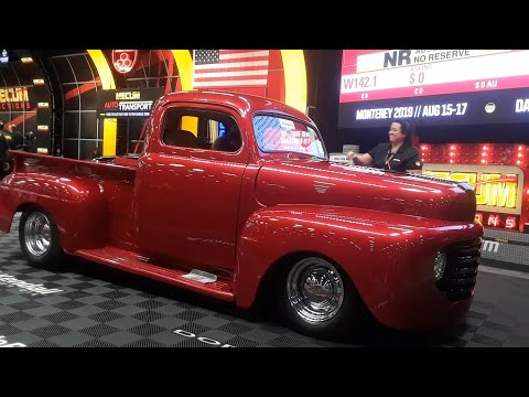 A Fine Fat Fendered Ford F1 1948 Ford F1 Retro Rod Sold At the 2019 Mecum Harrisburg