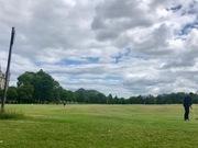 Golfing on Bruntsfield Links