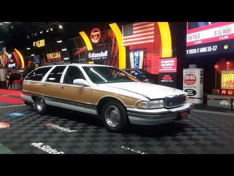 1995 Buick Roadmaster Estate Wagon Looking For A New Family At the 2019 Mecum Harrisburg