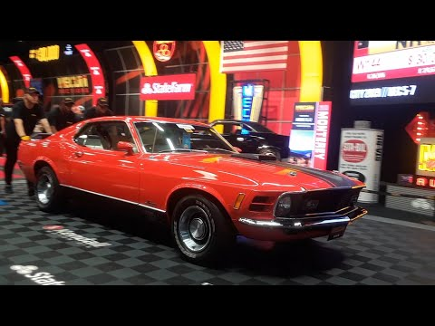 1970 Ford Musang Mach 1 Bringing Joy To A New Owner At the 2019 Mecum Harrisburg