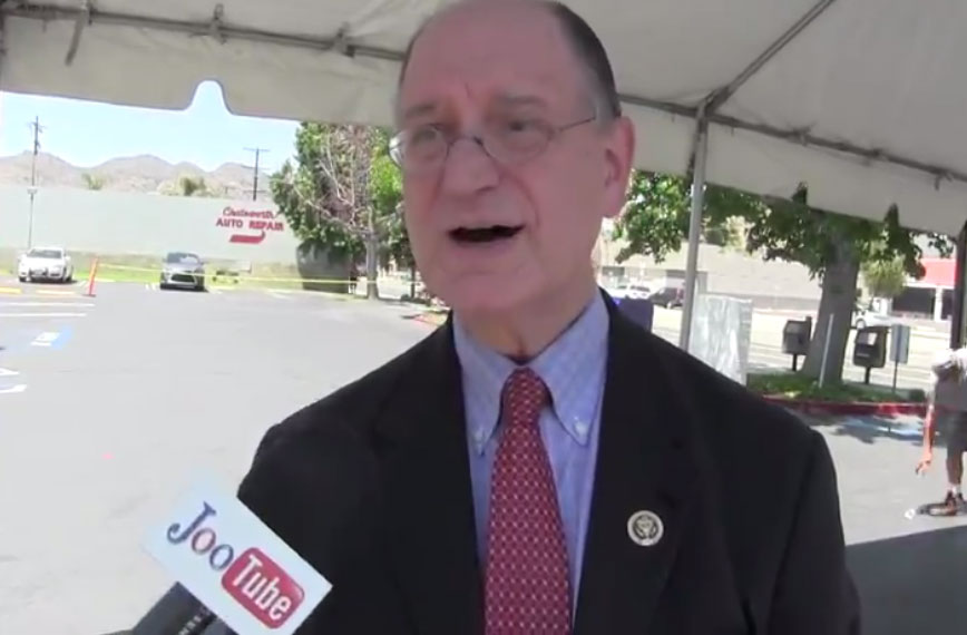 Sen. Brad Sherman Speaks To JooTube Reporter