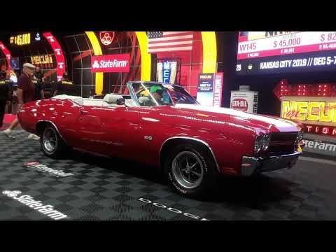 1970 Chevy Chevelle 454 Convertible A Beautiful Brute At the 2019 Mecum Harrisburg