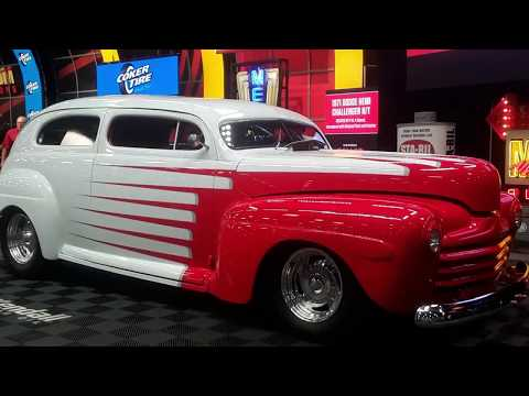 1946 Ford Hot Rod  Chopped, Shaved and Frenched At the 2019 Mecum Harrisburg