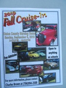 2019 FALL CRUISE IN FOR UNION CO. NURSING HOME