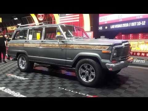 1979 Jeep Wagoneer With Very Low Mileage At the 2019 Mecum Harrisburg