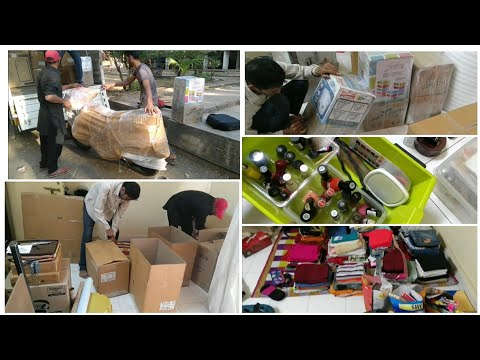 #Lifeupdate We are Shifting | How Packers and Movers Pack while shifting