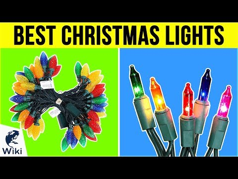 best cascading christmas lights