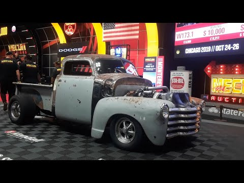 1953 Chevy Rat Truck, Raty and Ready To Rumble At the 2019 Mecum Harrisburg