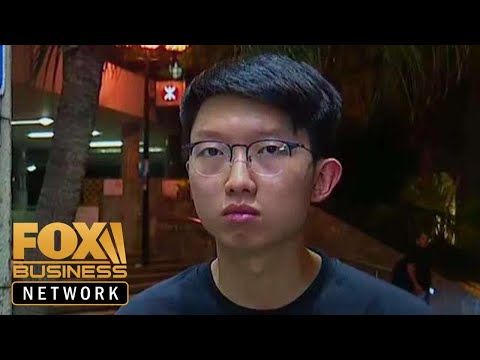 Hong Kong rally spokesperson: we are fighting the Communist party