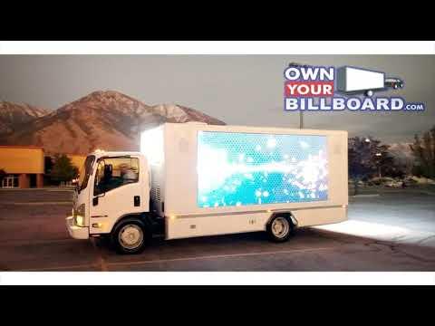 Own Your Billboard : Led Digital Billboard Truck For Sale