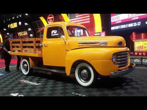 1948 Ford F1 Stake Bed Pickup A Sweet Ol' Work Horse At the 2019 Mecum Harrisburg