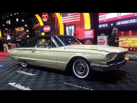 1966 Ford Thunderbird Convertible The Bid Did Not Take the TBird Away At the 2019 Mecum Harrisburg