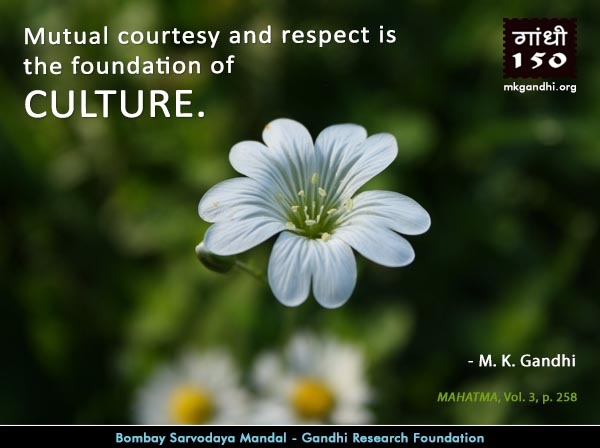Thought For The Day ( CULTURE )