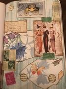 art journal page fashion