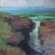 Gaeltacht Thiar Thir Chonaill, paintout in Glassagh.