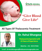 Thalassemia  Treatment in India