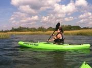 Kayak tour down the Quinnipiac River