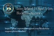 Trouble because of the inability to sign in on Blockchain