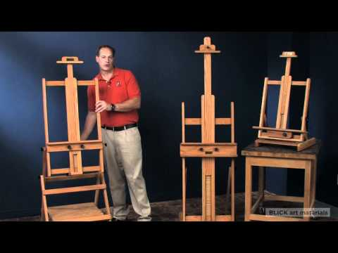 Display Easels - A0 A1 A2 - Natural Beech Wood, Black, Dark Brown, Gold, White or Grey