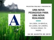 """Palestra: """"Uma nova pedagogia para uma nova realidade"""""""