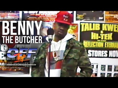 "Benny the Butcher - ""Off Top"" Freestyle (Top Shelf Premium)"