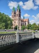 Sacred Heart Church in Freiburg