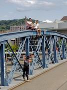 Walking the Wiwilíbrücke